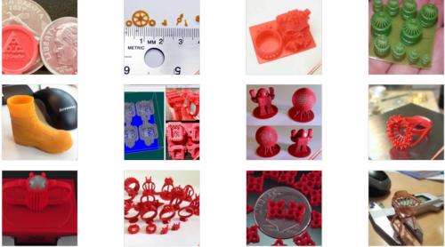 Sản phẩm do máy in 3D kim hoàn làm ra