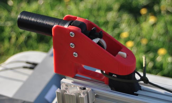 Máy in 3D tạo ra súng( nhựa ABS) liberator luiz gun 3d print ABS sung in 3d