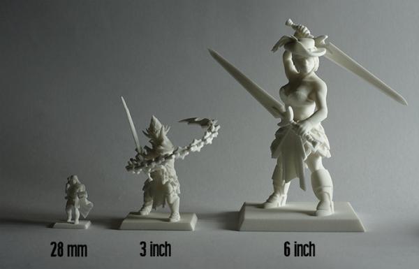 Dựng và in mô hình 3D các nhân vật game theo ý thích