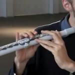 Cây sáo Flute được làm bởi MÁY IN 3D
