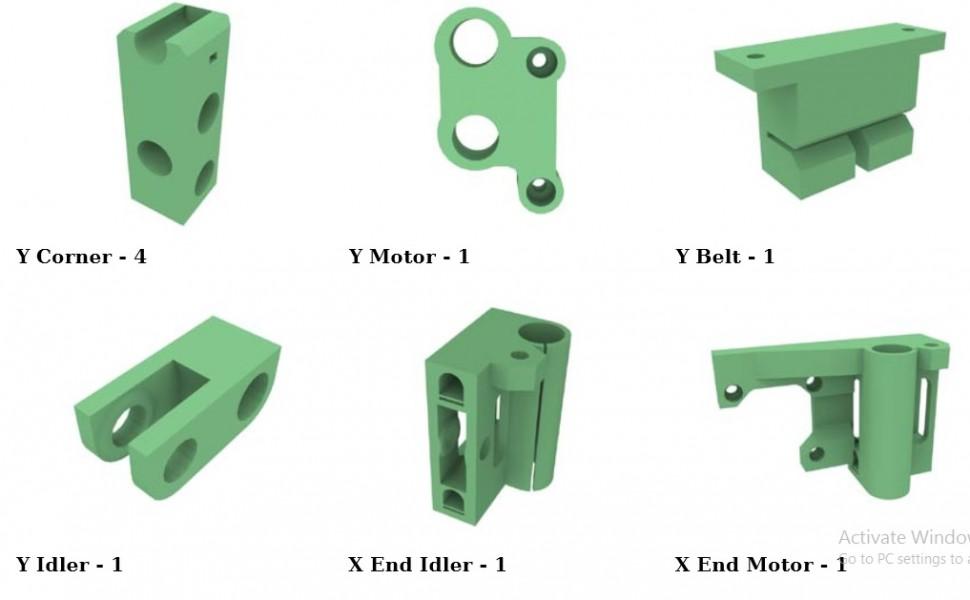 Hướng dẫn lắp ráp máy in 3d Pusa i3 Reprap
