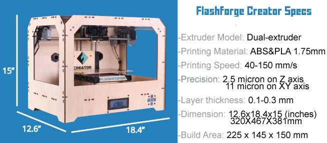 Máy in 3D lớn cỡ nào? kích thước máy in 3d