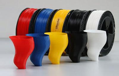 Cung cấp vật liệu in 3D : ABS PLA 1.75-3mm