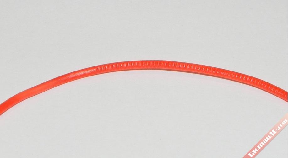 Độ tròn của sợi nhựa in 3D, vật liệu in 3D ABS PLA , máy in 3d