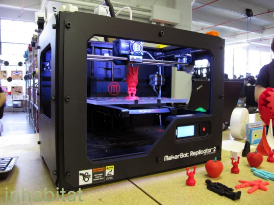 máy in 3D giá rẻ hoặc máy in 3D tự chế từ mã nguồn mở Reprap - Fab@home...