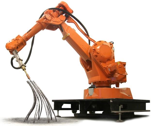 Robot Máy in 3D tạo ra những cấu trúc kim loại tự do
