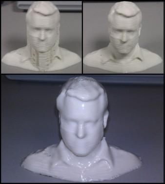 tượng người in 3d, Cách làm mượt bề mặt sản phẩm in 3D