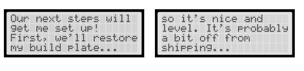 leveling platform makerbot replicator 2 flashforge