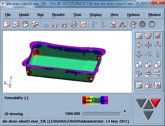 Autoform - Phần mềm mô phỏng khuôn dập kim loại