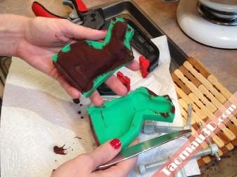 in 3D khuôn đúc sô-cô-la