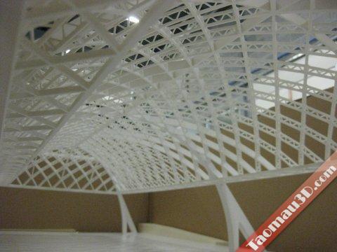 in 3D mô hình kiến trúc, kien truc dep - in 3D mau thiet ke xay dung