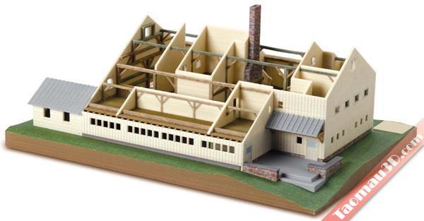 in 3D mô hình kiến trúc, thie ke nha 3D - in mo hinh biet thu kien truc