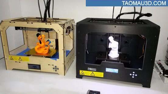 So sánh máy in 3D Flashforge Creator và Creator X