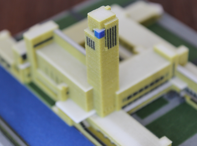in 3D mô hình kiến trúc, in 3d ngoi nha, nha 3d - thiet ke va in 3D mau biet thu