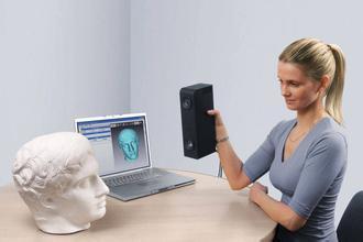 scan 3D dau nguoi - quet hinh 3d tuong nguoi