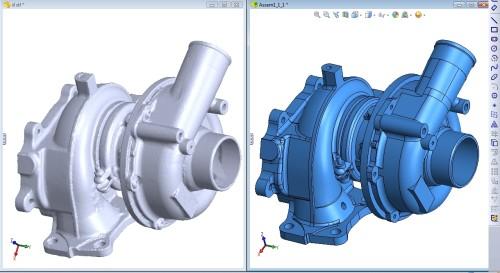 scan 3D san pham duc khuon, Sao chép nguyên vẹn kích thước và hình dáng chi tiết cơ khí