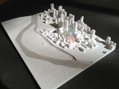 tao mau nha 3d - in 3D ngoi nha sa ban kien truc
