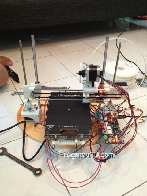 lap rap may in 3D Reprap portabee bo mach ramps