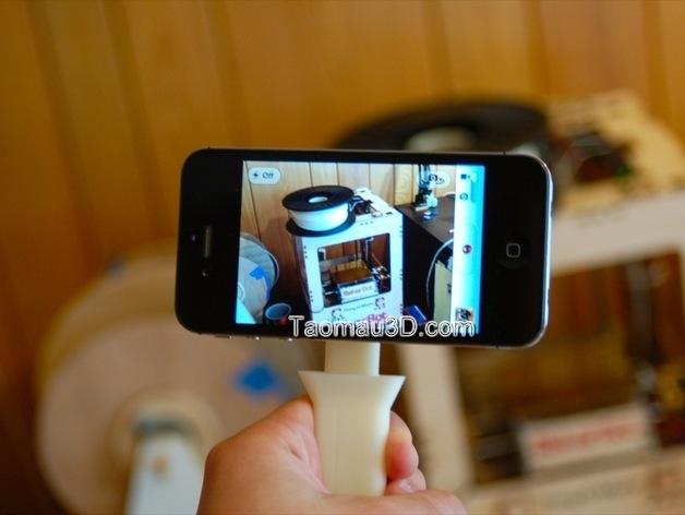 Sản phẩm in 3D độc đáo cho chiếc iphone. tay cầm camera iphone