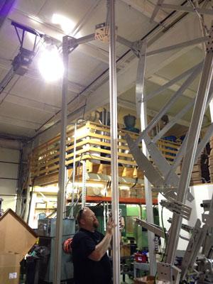 Chiếc máy in 3D dòng Delta lớn nhất thế giới