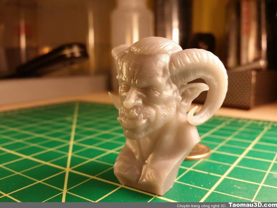 Mẫu in 3D cao cấp thì trông như thế nào?