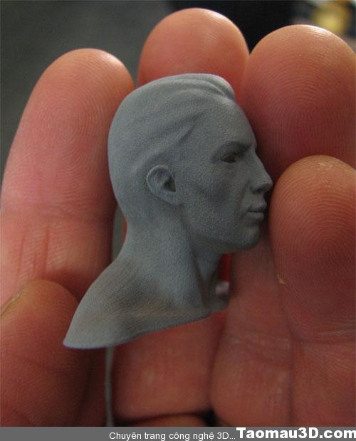 in 3D tượng người - tạo mẫu đầu người