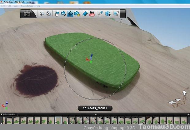 scan 3D mat kieng autodesk catch