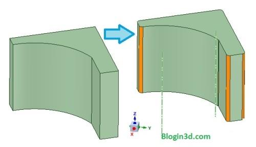 Phần bo tròn cũng xảy ra khi bạn xoay hướng in của mẫubên trên. Phải căn cứ vào yêu cầu thực tế để cân nhắc vấn đề này!