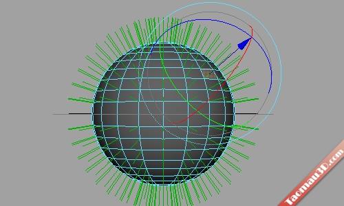 vertexnormals chinh huong 3D