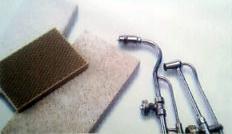 Một số khối hay tấm chịu nhiệt được sử dụng khi hàn