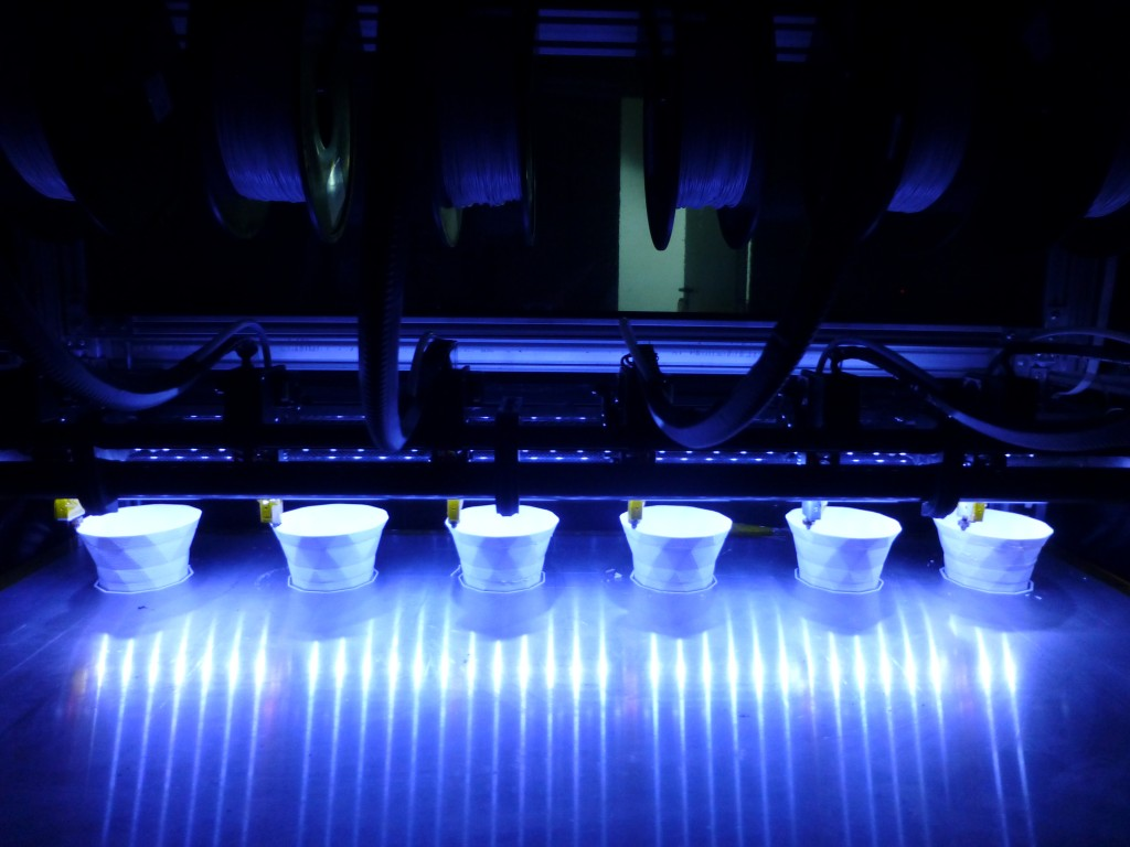 Máy in 3D FDM khổ lớn 6 đầu phun!