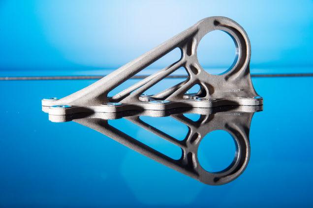 in 3D một chi tiết có cấu trúc đặc biệt