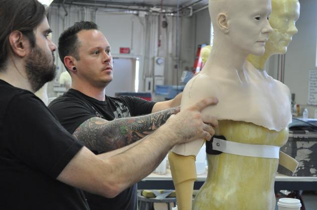 in 3D khuôn đúc giúp tạo hình nhân vật phim