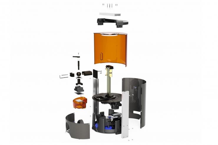 tự ráp máy in 3D Ember của Autodesk! Linh kiện cơ khí máy in 3D. Bộ kit máy in 3D mini giá rẻ