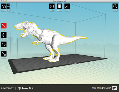 Phần mềm in 3D MAKERWARE