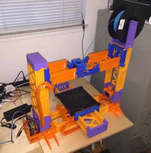 Chiếc máy in 3D Reprap nào được chế nhiều nhất?