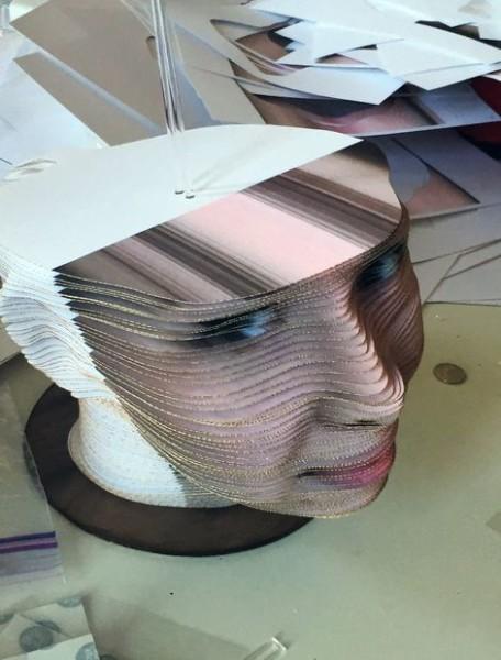 Cách giả làm mẫu in 3D tượng người full color