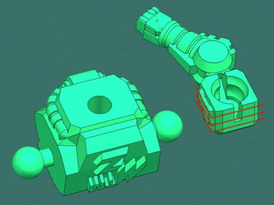 khop noi robot in 3d
