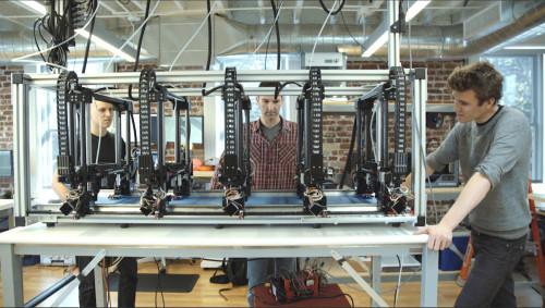 Giải pháp gia công mẫu in 3D cỡ lớn của Autodesk