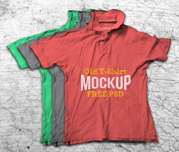 Mockup áo T-shirt
