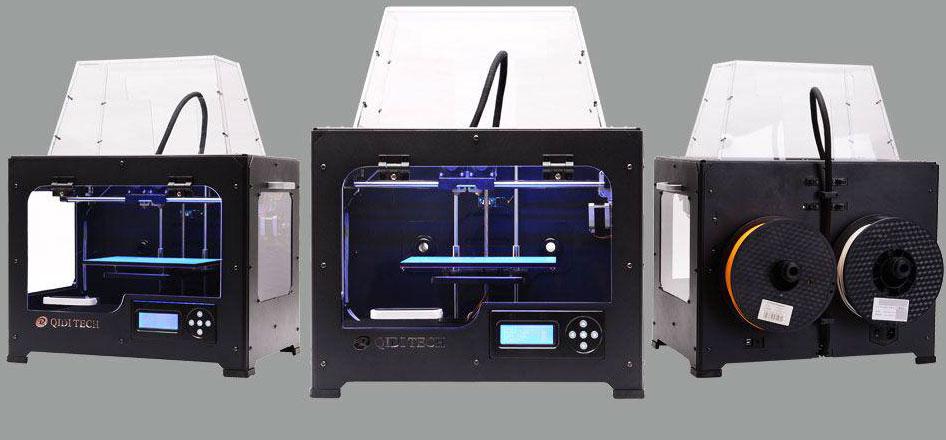 Máy in 3D giá rẻ, may in 3D Qidi, qidi 3dprinter, 3d printer viet nam