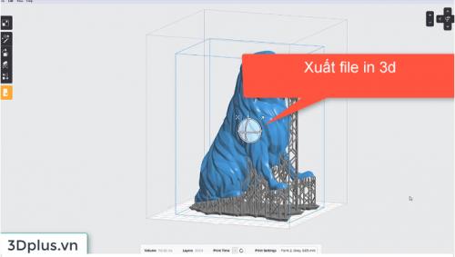 Xuất file STL để máy in 3D đọc được