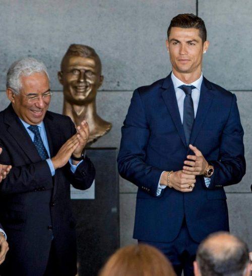 Ronaldo biết tới dịch vụ scan 3D tượng người