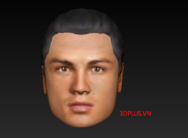 Giá như Ronaldo biết tới dịch vụ scan 3D tượng người