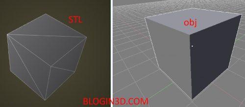 STL vs OBJ, nên chọn định dạng nào khi in 3D