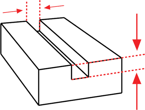 engraved detail 3d model