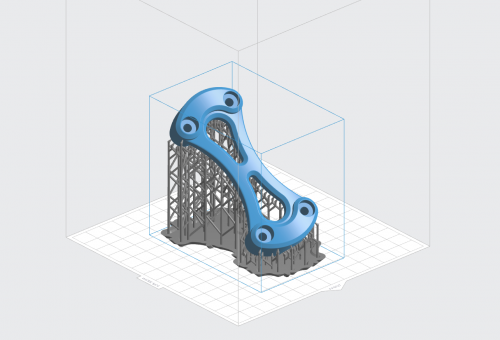 orientation 3d model on 3d printer build plate