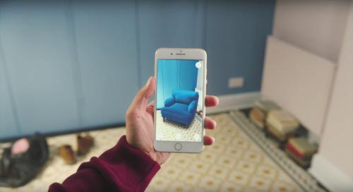 Ứng dụng thực tế ảo tăng cường trong ngành kinh doanh nội thất