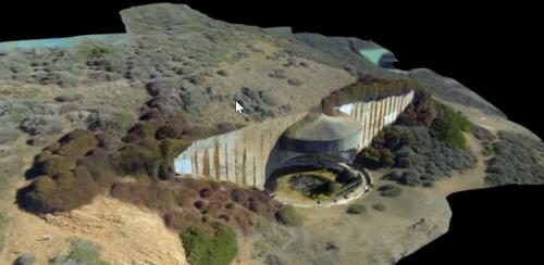 Số hóa công trình kiến trúc bằng giải pháp scan 3D flycam