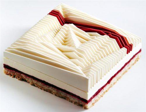bánh ngọt hình học 3D